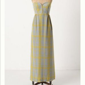 Anthropologie Quilted Pastiche Maxi Size 6